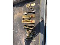 Misc. Brass door fittings