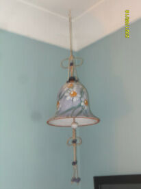 German Ceramic Decorative Hanging Bell