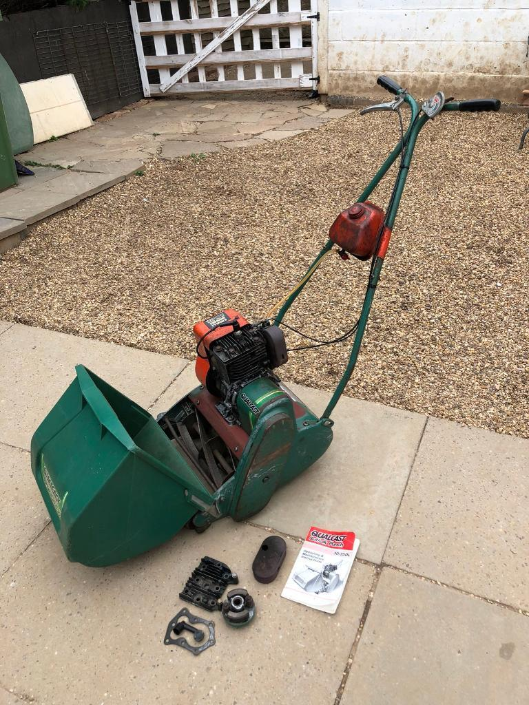 Suffolk punch petrol lawnmower with instructions ( please read)