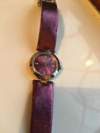 Ladies purple Oasis watch