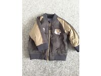 9-12 months bomber jacket