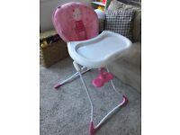 GRACO BABY FEEDING CHAIR