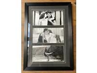 Dirty Dancing Triple Print in Black Frame
