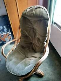 Vintage Swivel Armchair