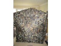 Fold out pop up wildlife / bird watching camouflage photography hide - new / never used