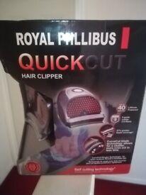Unused cordless hair clipper