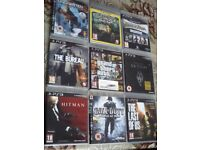 Ps 3 games.