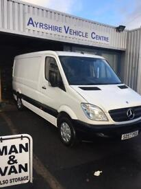 merc for sale 57 reg mwb semi roof 102 on the clock 1 years mot service very clean great driver