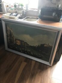 Vintage painting of Venice Canvas