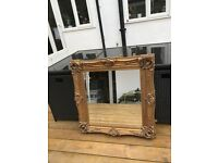 Antique Style Gold Mirror - £40