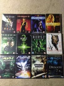Sci-fi films DVD bundle. 12 movies