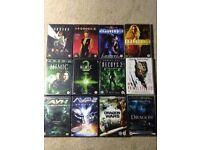 Sci-fi films DVD bundle. 12 movies