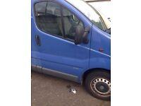 1.9 diesel engine Vauxhall Vivaro 2001