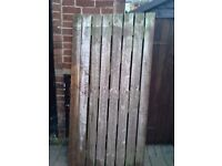 Wooden garden gate, used, good condition.