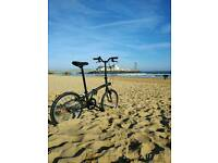 FOLDING BIKE BTWIN WITH ACCESSORIES