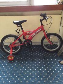 Kids bike, Dawes, like new, 4-7 years olds, red