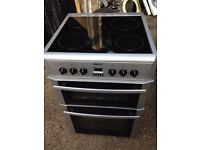 £124.50 Beko sls/Black ceramic electric cooker+60cm+3 months warranty for £124.50