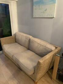 Sofa & table ideal for a conservatory
