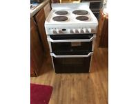 60cm Indesit hob double oven and grill free local delivery if required