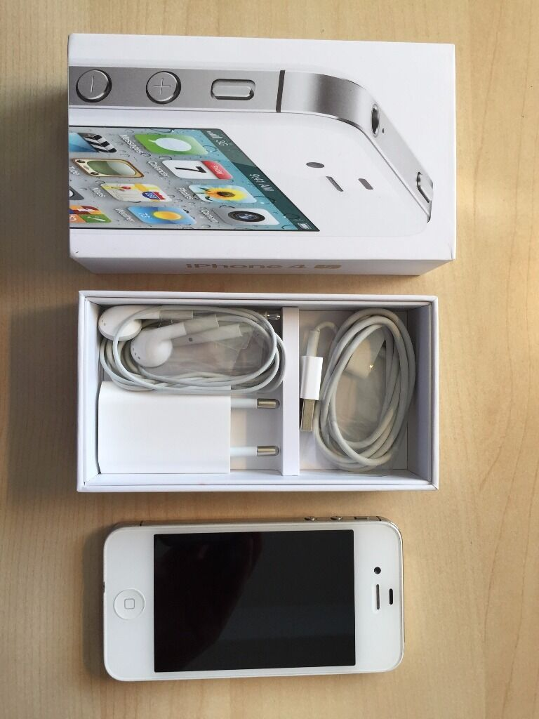 Iphone 4s 16gb Box Iphone 4s 16gb White