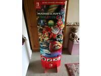 Mario kart 8 switch promo standee