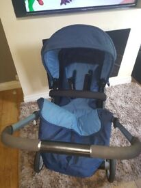 Mothercare Roam pram (blue)