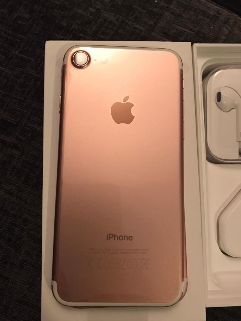 Iphone 7 Rose Gold brand new in box on EE network | in ...