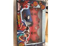 Spider man mega laser set