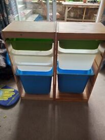 toy storage units (two) from IKEA