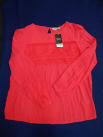 NEXT LADIES TOP/BLOUSE (NEW WITH TAG) - SIZE 14
