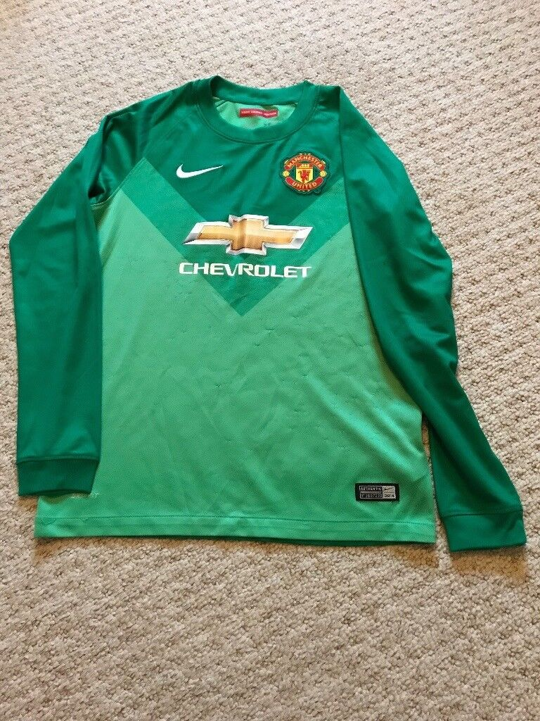 new styles fbeec a43c2 Manchester United Goalkeepers Kit 12-13 Years | in Bicester, Oxfordshire |  Gumtree