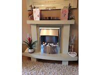Be Modern fire surround complete with electric fire