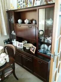 Sideboard and display unit.