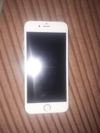 I phone 6 mint condition white on vodaphone 16g