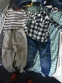 Boys outfits 18-24 months.