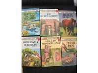 6 Ladybird children's classics