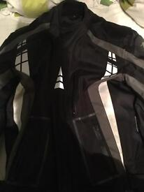 A star motorcycle jacket.