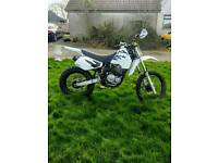 Suzuki DR 350 dirt bike scrambler (not yz, cr, yzf, rm, crf)