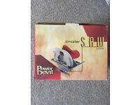 Power Devil Electric Circular Saw spares or repair £20