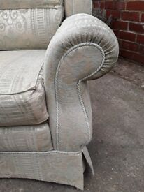 Comfortable living room furniture, large armchair for living room, granny annex, conservatory.