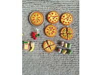 Sylvanian Families pizza parlour and delivery