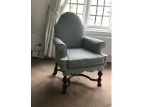 Free upholstered chair in excellent condition