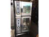 Rational Combi Master Double Stacked 10 Grid and 6 Grid Electric Oven (Single Phase)