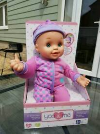 Brand new doll with hand movement