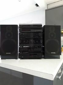 KENWOOD Compact Audio System.