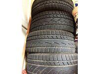 set of 4 winter tyres 225/45R17