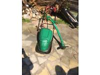 Qualcast electric lawn mower + strimmer