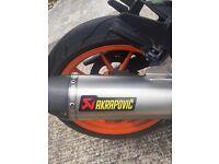 KTM RC125 Akropovik editon