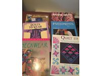 Book: Quilts for wearing + lg range books