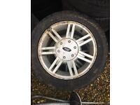 "Ford Fiesta 4x108 14"" alloy wheels"